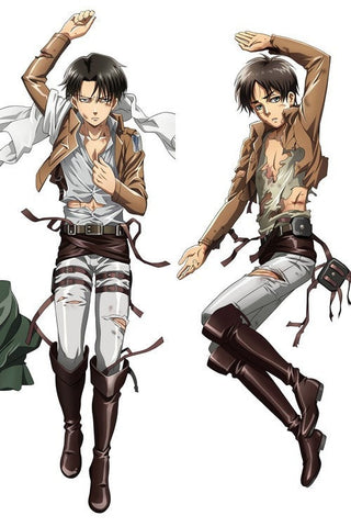 New  Attack on Titan Male Shingeki no Kyojin Anime Dakimakura Japanese Pillow Cover MALE3 - Anime Dakimakura Pillow Shop | Fast, Free Shipping, Dakimakura Pillow & Cover shop, pillow For sale, Dakimakura Japan Store, Buy Custom Hugging Pillow Cover - 1