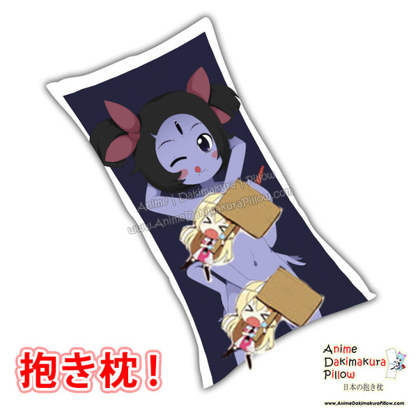 New Muffets Undertale Anime Dakimakura Japanese Rectangle Pillow Cover Custom Designer 2Kaze ADC584