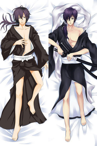 New  Male Hakuouki Shinsengumi Kitan Anime Dakimakura Japanese Pillow Cover MALE41 - Anime Dakimakura Pillow Shop | Fast, Free Shipping, Dakimakura Pillow & Cover shop, pillow For sale, Dakimakura Japan Store, Buy Custom Hugging Pillow Cover - 1