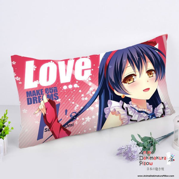 New Sonoda Umi - Love Live Anime Dakimakura Rectangle Pillow Cover RPC41