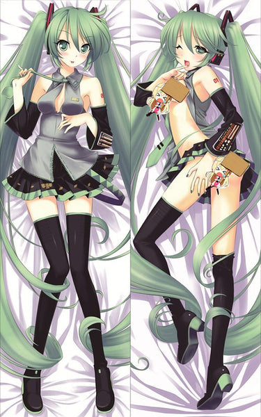 New Hatsune Miku Anime Dakimakura Japanese Pillow Cover HM34 - Anime Dakimakura Pillow Shop | Fast, Free Shipping, Dakimakura Pillow & Cover shop, pillow For sale, Dakimakura Japan Store, Buy Custom Hugging Pillow Cover - 1