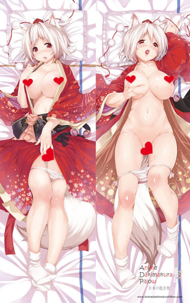 New  Touhou Project - Momiji Inubashiri Anime Dakimakura Japanese Pillow Cover ContestSeventyFour 19 ADP-G189 - Anime Dakimakura Pillow Shop | Fast, Free Shipping, Dakimakura Pillow & Cover shop, pillow For sale, Dakimakura Japan Store, Buy Custom Hugging Pillow Cover - 1