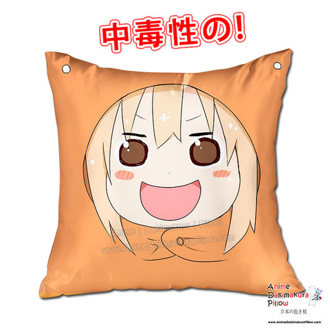 New Umaru Doma - Himouto Umaru Chan 40x40cm Square Anime Dakimakura Throw Pillow Cover GZFONG433 - Anime Dakimakura Pillow Shop | Fast, Free Shipping, Dakimakura Pillow & Cover shop, pillow For sale, Dakimakura Japan Store, Buy Custom Hugging Pillow Cover - 1