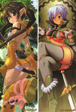 New Queen's Blade Anime Dakimakura Japanese Pillow Cover QB22 - Anime Dakimakura Pillow Shop | Fast, Free Shipping, Dakimakura Pillow & Cover shop, pillow For sale, Dakimakura Japan Store, Buy Custom Hugging Pillow Cover - 1