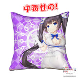 New Hestia - DanMachi 40x40cm Square Anime Dakimakura Throw Pillow Cover GZFONG445 - Anime Dakimakura Pillow Shop | Fast, Free Shipping, Dakimakura Pillow & Cover shop, pillow For sale, Dakimakura Japan Store, Buy Custom Hugging Pillow Cover - 1