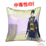 New Mikazuki Munechika - Touken Ranbu 40x40cm Square Anime Dakimakura Throw Pillow Cover GZFONG449 - Anime Dakimakura Pillow Shop | Fast, Free Shipping, Dakimakura Pillow & Cover shop, pillow For sale, Dakimakura Japan Store, Buy Custom Hugging Pillow Cover - 1
