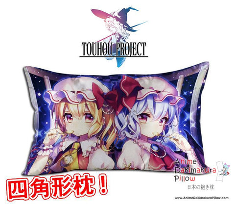 New Touhou Project Anime Waifu Dakimakura Rectangle 40x70cm Pillow Cover GZFONG-44 - Anime Dakimakura Pillow Shop | Fast, Free Shipping, Dakimakura Pillow & Cover shop, pillow For sale, Dakimakura Japan Store, Buy Custom Hugging Pillow Cover - 1