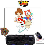 New Yokai Watch Anime Gaming Mouse Pad Deluxe Multipurpose Playmat GZFONG-P44 - Anime Dakimakura Pillow Shop | Fast, Free Shipping, Dakimakura Pillow & Cover shop, pillow For sale, Dakimakura Japan Store, Buy Custom Hugging Pillow Cover - 1