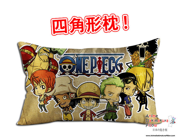 New One Piece Anime Dakimakura 45 x 75cm Rectangle Pillow Cover GZFONG462