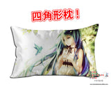 New Hatsune Miku -Vocaloid Anime Dakimakura 45 x 75cm Rectangle Pillow Cover GZFONG463 - Anime Dakimakura Pillow Shop | Fast, Free Shipping, Dakimakura Pillow & Cover shop, pillow For sale, Dakimakura Japan Store, Buy Custom Hugging Pillow Cover - 1