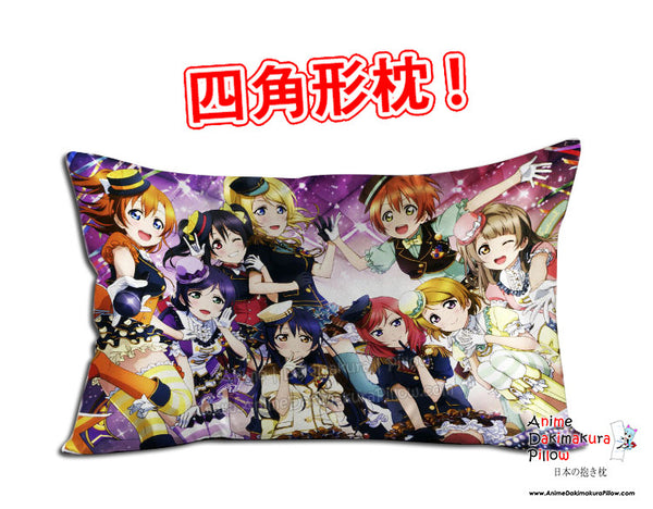 New Love Live Anime Dakimakura 45 x 75cm Rectangle Pillow Cover GZFONG470