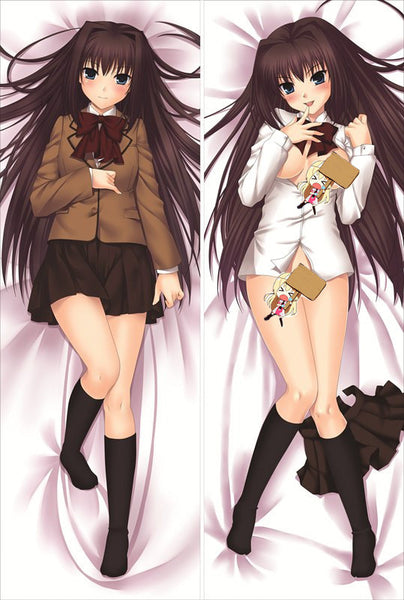 New Little Busters Anime Dakimakura Japanese Pillow Cover LB3 - Anime Dakimakura Pillow Shop | Fast, Free Shipping, Dakimakura Pillow & Cover shop, pillow For sale, Dakimakura Japan Store, Buy Custom Hugging Pillow Cover - 1