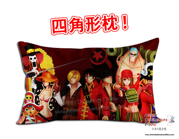 New One Piece Anime Dakimakura 45 x 75cm Rectangle Pillow Cover GZFONG479