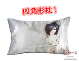 New Touka Kirishima - Tokyo Ghoul Anime Dakimakura 45 x 75cm Rectangle Pillow Cover GZFONG488 - Anime Dakimakura Pillow Shop | Fast, Free Shipping, Dakimakura Pillow & Cover shop, pillow For sale, Dakimakura Japan Store, Buy Custom Hugging Pillow Cover - 1