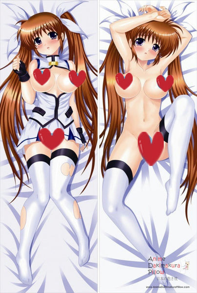 New  Magical Girl Lyrical Nanoha Anime Dakimakura Japanese Pillow Cover ContestSeventySeven ADP-8001
