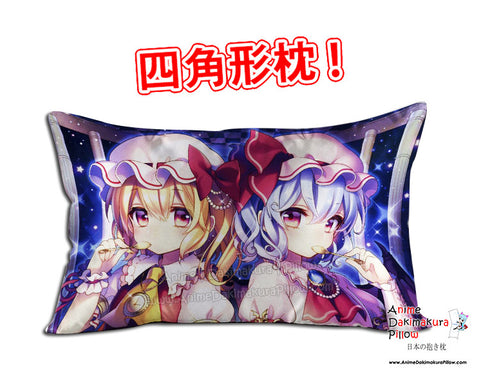 New Touhou Project Anime Dakimakura 45 x 75cm Rectangle Pillow Cover GZFONG489 - Anime Dakimakura Pillow Shop | Fast, Free Shipping, Dakimakura Pillow & Cover shop, pillow For sale, Dakimakura Japan Store, Buy Custom Hugging Pillow Cover - 1