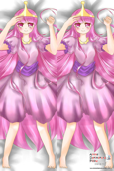 New Princess Bonnibel Bubblegum -  Adventure Time Anime Dakimakura Japanese Pillow Custom Designer xLoveKawaii ADC146