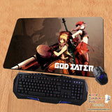New God Eater 2 Anime Gaming Playmat Multipurpose Mousepad PM49 - Anime Dakimakura Pillow Shop | Fast, Free Shipping, Dakimakura Pillow & Cover shop, pillow For sale, Dakimakura Japan Store, Buy Custom Hugging Pillow Cover - 1