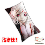 New Juuzou - Tokyo Ghoul Anime Dakimakura Japanese Rectangle Pillow Cover Custom Designer Ylliart ADC552 - Anime Dakimakura Pillow Shop | Fast, Free Shipping, Dakimakura Pillow & Cover shop, pillow For sale, Dakimakura Japan Store, Buy Custom Hugging Pillow Cover - 1
