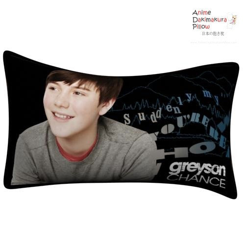 New Greyson Chance Throw Pillow Case cushion pillowcase cover4