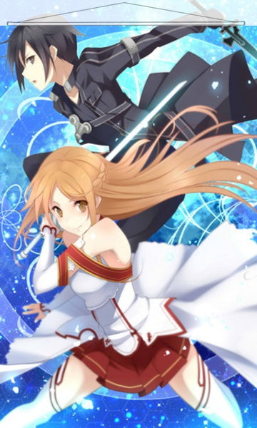Sword Art Online Japanese Anime Wall Scroll Poster and Banner 4 - Anime Dakimakura Pillow Shop | Fast, Free Shipping, Dakimakura Pillow & Cover shop, pillow For sale, Dakimakura Japan Store, Buy Custom Hugging Pillow Cover - 1