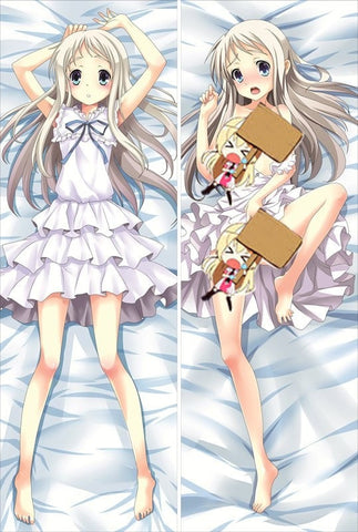 New  Anohana The Flower We Saw That Day Anime Dakimakura Japanese Pillow Cover ContestTwentyNine10 - Anime Dakimakura Pillow Shop | Fast, Free Shipping, Dakimakura Pillow & Cover shop, pillow For sale, Dakimakura Japan Store, Buy Custom Hugging Pillow Cover - 1