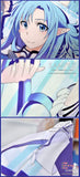 New Asuna Yuuki - Sword Art Online Anime Dakimakura 45 x 75cm Rectangle Pillow Cover GZFONG466 - Anime Dakimakura Pillow Shop | Fast, Free Shipping, Dakimakura Pillow & Cover shop, pillow For sale, Dakimakura Japan Store, Buy Custom Hugging Pillow Cover - 5
