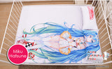 New Hatsune Miku - Vocaloid Japanese Anime Bed Blanket or Duvet Cover with Pillow Covers H0172 - Anime Dakimakura Pillow Shop | Fast, Free Shipping, Dakimakura Pillow & Cover shop, pillow For sale, Dakimakura Japan Store, Buy Custom Hugging Pillow Cover - 4