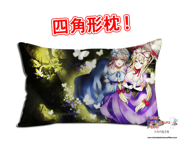 New Touhou Project Anime Dakimakura 45 x 75cm Rectangle Pillow Cover GZFONG501