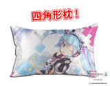 New Hatsune Miku - Vocaloid Anime Dakimakura 45 x 75cm Rectangle Pillow Cover GZFONG510 - Anime Dakimakura Pillow Shop | Fast, Free Shipping, Dakimakura Pillow & Cover shop, pillow For sale, Dakimakura Japan Store, Buy Custom Hugging Pillow Cover - 1