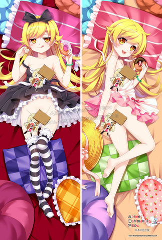 New Oshino Shinobu - Bakemonogatari Anime Dakimakura Japanese Hugging Body Pillow Cover ADP-512003 - Anime Dakimakura Pillow Shop | Fast, Free Shipping, Dakimakura Pillow & Cover shop, pillow For sale, Dakimakura Japan Store, Buy Custom Hugging Pillow Cover - 1