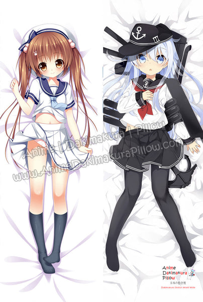New Kantai Collection and Kawaii School Girl Anime Dakimakura Japanese Hugging Body Pillow Cover ADP-512123 ADP-512125 - Anime Dakimakura Pillow Shop | Fast, Free Shipping, Dakimakura Pillow & Cover shop, pillow For sale, Dakimakura Japan Store, Buy Custom Hugging Pillow Cover - 1