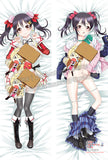 New Nico Yazawa - Love Live Anime Dakimakura Japanese Hugging Body Pillow Cover ADP-512138 - Anime Dakimakura Pillow Shop | Fast, Free Shipping, Dakimakura Pillow & Cover shop, pillow For sale, Dakimakura Japan Store, Buy Custom Hugging Pillow Cover - 1