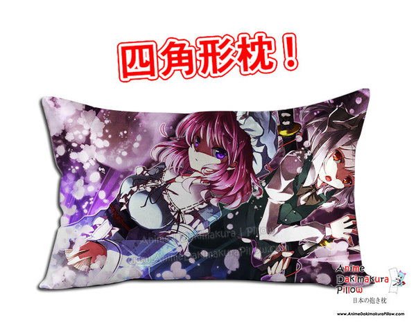 New Touhou Project Anime Dakimakura 45 x 75cm Rectangle Pillow Cover GZFONG512 - Anime Dakimakura Pillow Shop | Fast, Free Shipping, Dakimakura Pillow & Cover shop, pillow For sale, Dakimakura Japan Store, Buy Custom Hugging Pillow Cover - 1