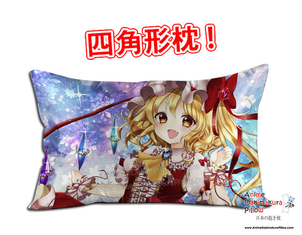 New Touhou Project Anime Dakimakura 45 x 75cm Rectangle Pillow Cover GZFONG515