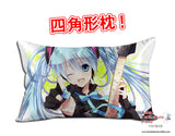 New Hatsune Miku - Vocaloid Anime Dakimakura 45 x 75cm Rectangle Pillow Cover GZFONG519 - Anime Dakimakura Pillow Shop | Fast, Free Shipping, Dakimakura Pillow & Cover shop, pillow For sale, Dakimakura Japan Store, Buy Custom Hugging Pillow Cover - 1