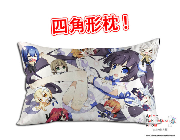 New DanMachi Anime Dakimakura 45 x 75cm Rectangle Pillow Cover GZFONG520 - Anime Dakimakura Pillow Shop | Fast, Free Shipping, Dakimakura Pillow & Cover shop, pillow For sale, Dakimakura Japan Store, Buy Custom Hugging Pillow Cover - 1