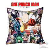 New One Punch Man 40x40cm Square Anime Dakimakura Throw Pillow Cover GZFONG529 - Anime Dakimakura Pillow Shop | Fast, Free Shipping, Dakimakura Pillow & Cover shop, pillow For sale, Dakimakura Japan Store, Buy Custom Hugging Pillow Cover - 1
