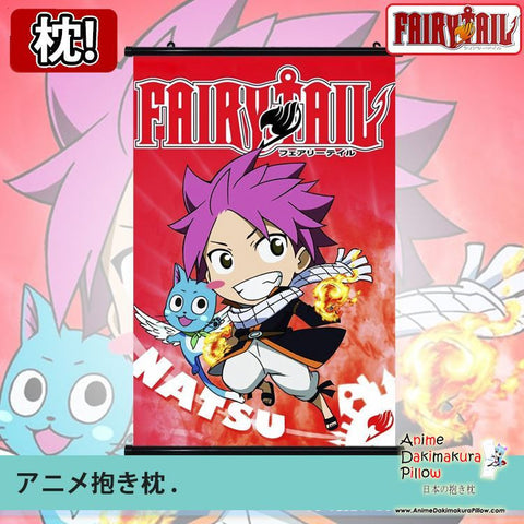 New Fairy Tail Japanese Anime Art Wall Scroll Poster Limited Edition High Quality GZFONG052 - Anime Dakimakura Pillow Shop | Fast, Free Shipping, Dakimakura Pillow & Cover shop, pillow For sale, Dakimakura Japan Store, Buy Custom Hugging Pillow Cover - 1