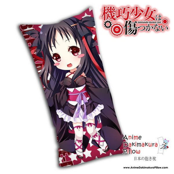 New Yaya - The Unbreakable Machine Doll Anime Dakimakura Rectangle Pillow Cover H0053