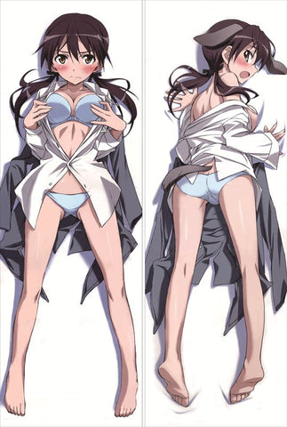 New Strike Witches Anime Dakimakura Japanese Pillow Cover SW6 - Anime Dakimakura Pillow Shop | Fast, Free Shipping, Dakimakura Pillow & Cover shop, pillow For sale, Dakimakura Japan Store, Buy Custom Hugging Pillow Cover - 1
