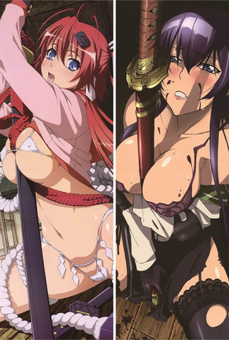 New Highschool of the Dead Anime Dakimakura Japanese Pillow Cover - Anime Dakimakura Pillow Shop | Fast, Free Shipping, Dakimakura Pillow & Cover shop, pillow For sale, Dakimakura Japan Store, Buy Custom Hugging Pillow Cover - 1