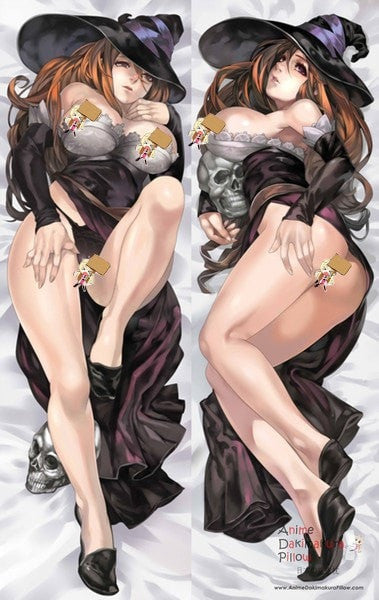 New  Dragon's Crown Sorceress Anime Dakimakura Japanese Pillow Cover ContestEighty 14