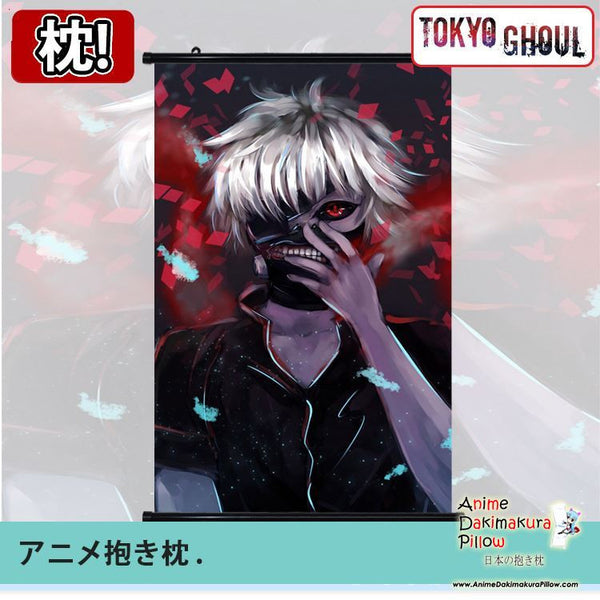 New Tokyo Ghoul Japanese Anime Art Wall Scroll Poster Limited Edition High Quality GZFONG056 - Anime Dakimakura Pillow Shop | Fast, Free Shipping, Dakimakura Pillow & Cover shop, pillow For sale, Dakimakura Japan Store, Buy Custom Hugging Pillow Cover - 1