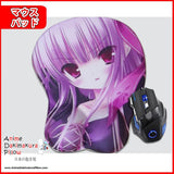 New Byakuya Chakai Anime Ergonomic 3D Mouse Pad Sexy Butt Wrist Rest Oppai GZFONG MP56 - Anime Dakimakura Pillow Shop | Fast, Free Shipping, Dakimakura Pillow & Cover shop, pillow For sale, Dakimakura Japan Store, Buy Custom Hugging Pillow Cover - 1