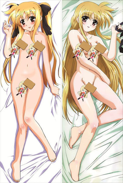 New Magical Girl Lyrical Nanoha Anime Dakimakura Japanese Pillow Cover MGLN45