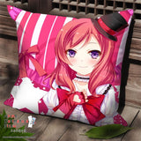 New Maki Nishikino - Love Live Anime Dakimakura Square Pillow Cover SPC57 - Anime Dakimakura Pillow Shop | Fast, Free Shipping, Dakimakura Pillow & Cover shop, pillow For sale, Dakimakura Japan Store, Buy Custom Hugging Pillow Cover - 1