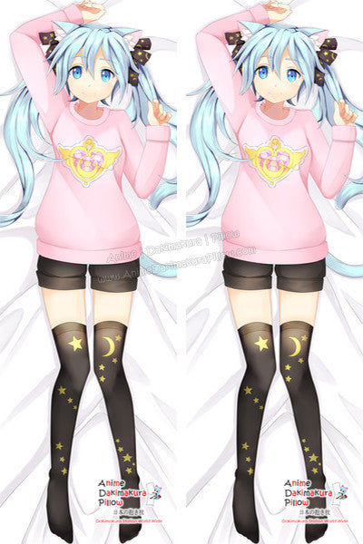 New Vocaloid Hatsune Miku Anime Dakimakura Japanese Pillow Cover Custom Designer Laura Sciarra ADC34 - Anime Dakimakura Pillow Shop | Fast, Free Shipping, Dakimakura Pillow & Cover shop, pillow For sale, Dakimakura Japan Store, Buy Custom Hugging Pillow Cover - 1