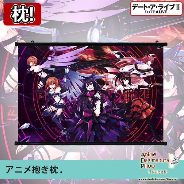 New Date a Live Japanese Anime Art Wall Scroll Poster Limited Edition High Quality GZFONG058