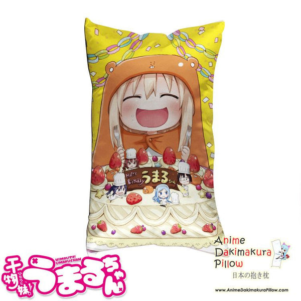 New Umaru Doma - Himouto Umaru-chan Anime Waifu Dakimakura Rectangle 40x70cm Pillow Cover GZFONG-58 - Anime Dakimakura Pillow Shop | Fast, Free Shipping, Dakimakura Pillow & Cover shop, pillow For sale, Dakimakura Japan Store, Buy Custom Hugging Pillow Cover - 1